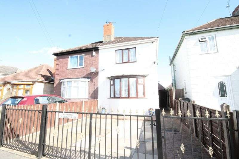 3 Bedrooms Semi Detached House for sale in Rockhouse Road, Alvaston, Derby