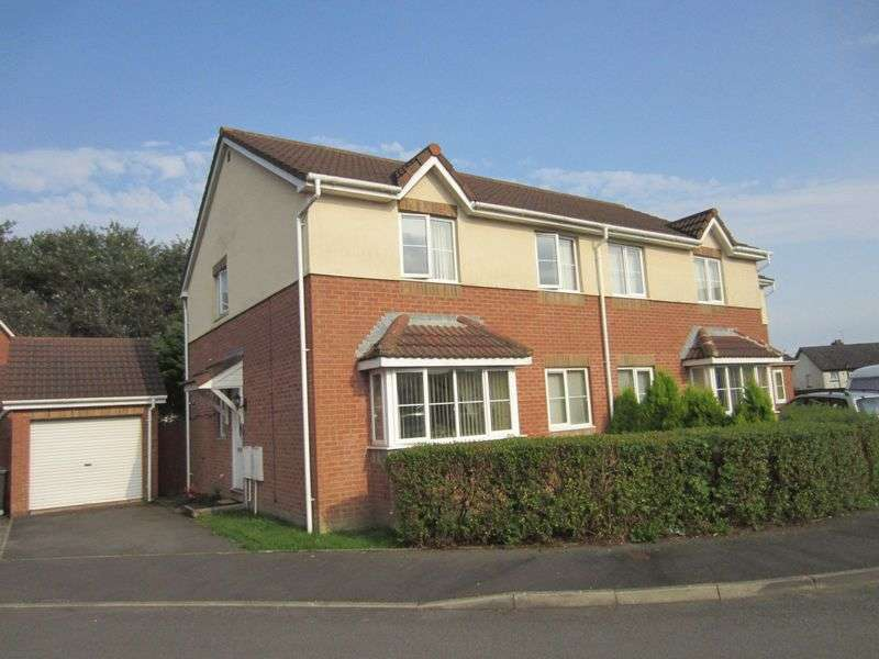 4 Bedrooms Semi Detached House for sale in Whinberry Way Westfield Park Cardiff CF5 4QU