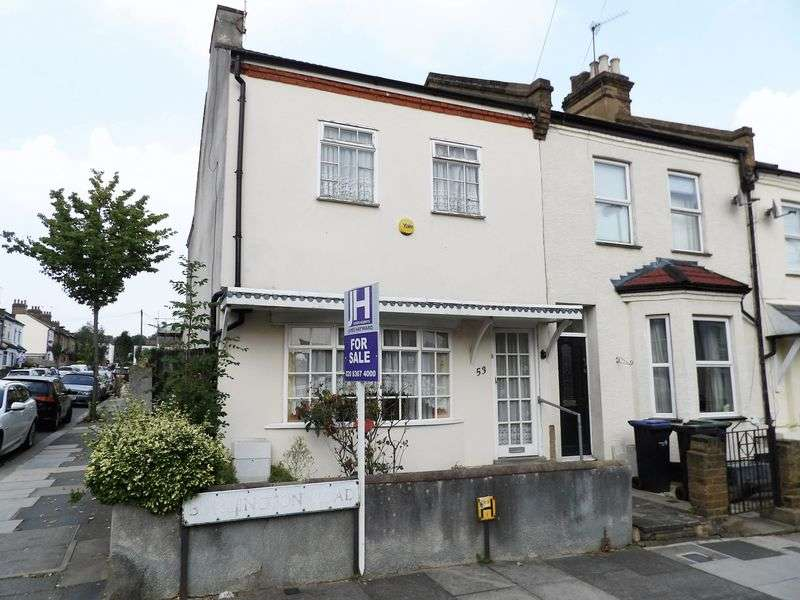 2 Bedrooms Terraced House for sale in Burlington Road, Enfield