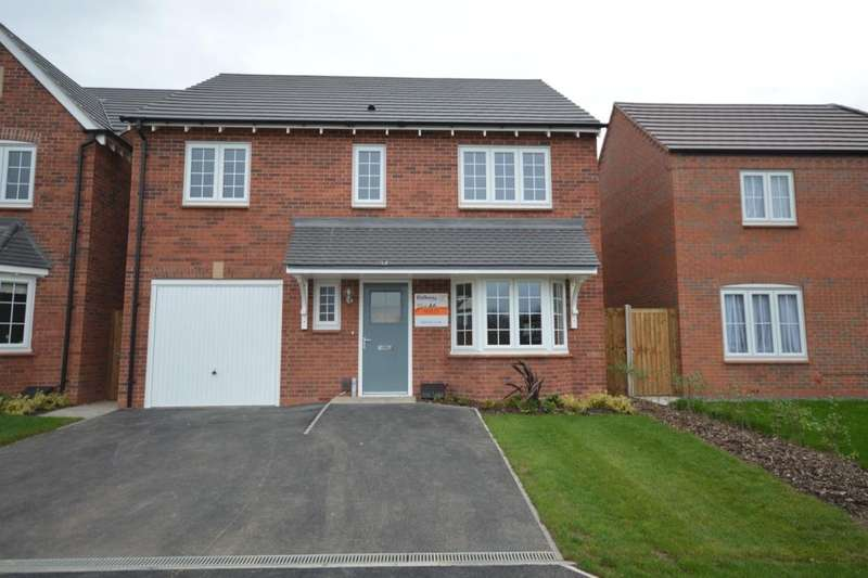 4 Bedrooms Detached House for sale in The Mapleton Royal Park The Long Shoot, Nuneaton, CV11