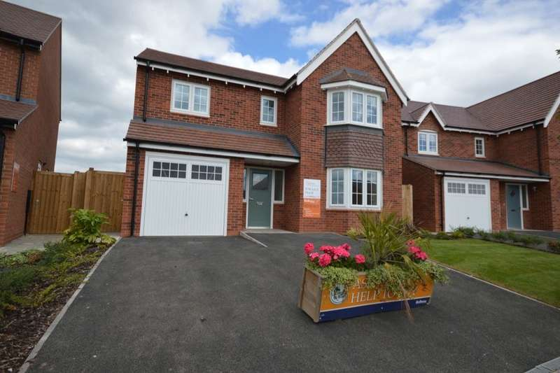 4 Bedrooms Detached House for sale in * The Buxton Royal Park The Long Shoot, Nuneaton, CV11