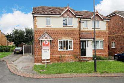 3 Bedrooms Semi Detached House for sale in Huxterwell Drive, Balby, Doncaster