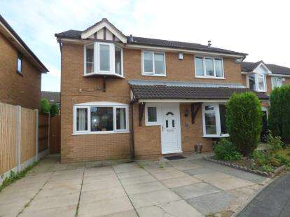 4 Bedrooms Detached House for sale in Woolmer Close, Birchwood, Warrington, Cheshire, WA3
