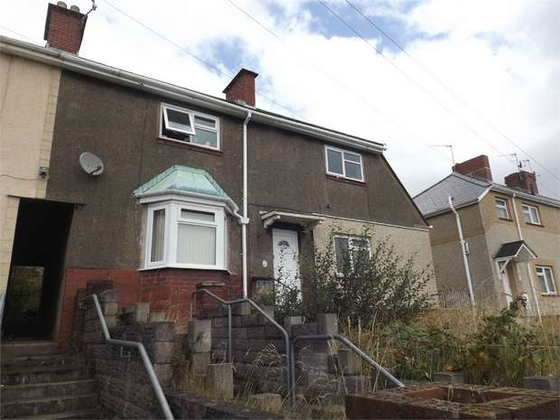5 Bedrooms Semi Detached House for sale in Robert Owen Gardens, Port Tennant, Swansea, West Glamorgan