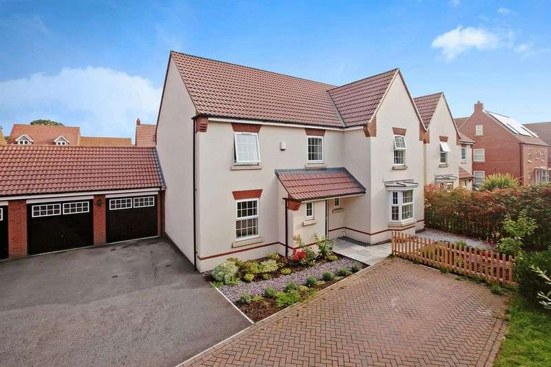 5 Bedrooms Detached House for sale in Bluebell Drive, Wilstock, Bridgwater