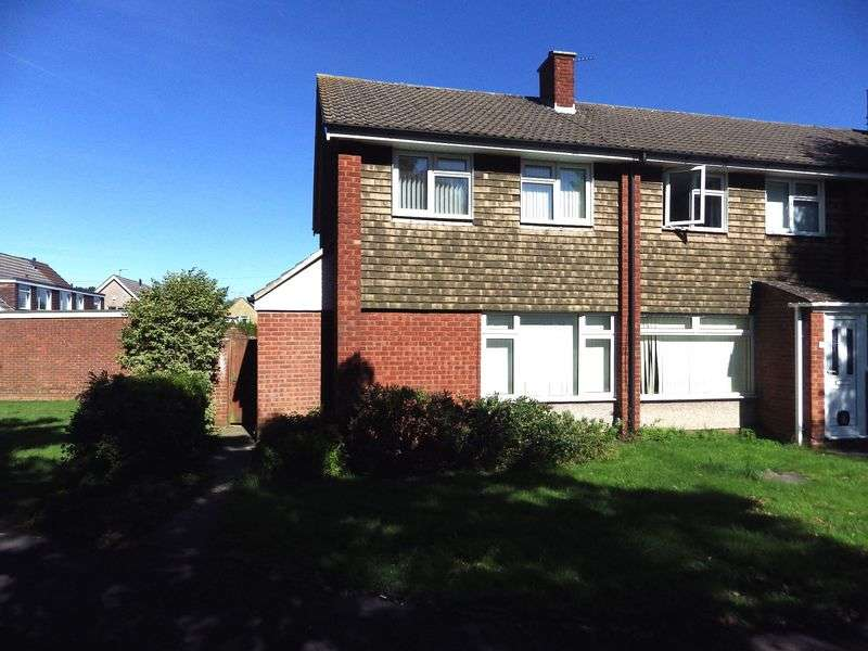 3 Bedrooms Terraced House for sale in Chalcombe Close, Little Stoke