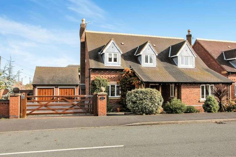 4 Bedrooms Detached House for sale in Henry Dane Way, Newbold Coleorton, Leicestershire LE67 8PP