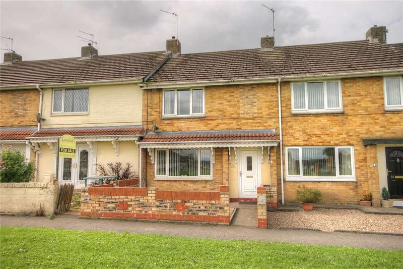 2 Bedrooms Terraced House for sale in Melrose Drive, St. Helen Auckland, Bishop Auckland, DL14