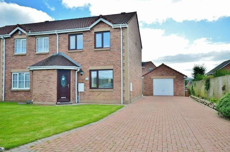 3 Bedrooms Semi Detached House for sale in Threaplands, Cleator Moor