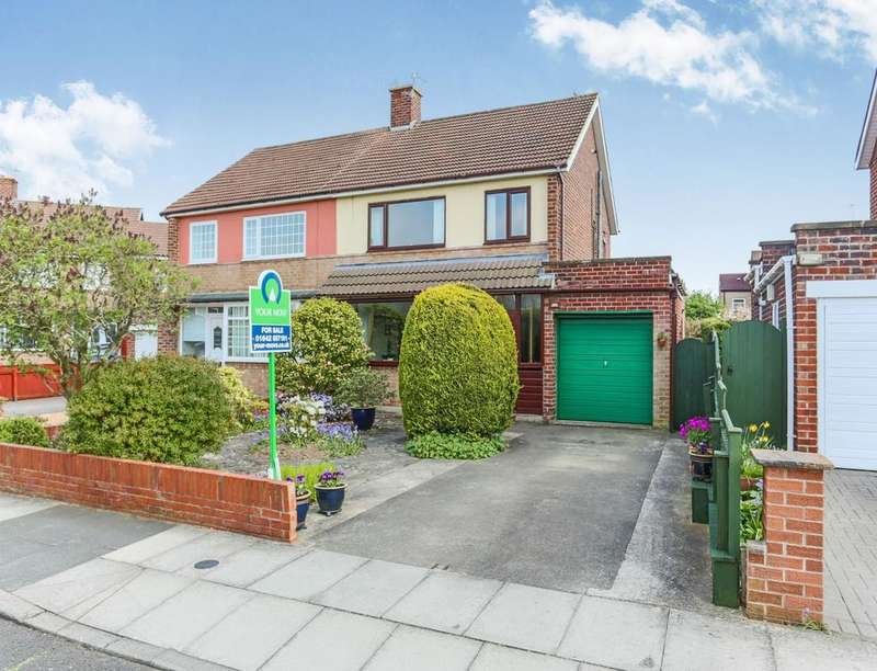 3 Bedrooms Semi Detached House for sale in Tunstall Road, Stockton-On-Tees, TS18