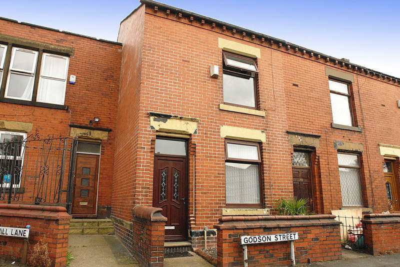 2 Bedrooms Terraced House for sale in 202 Godson Street, Oldham