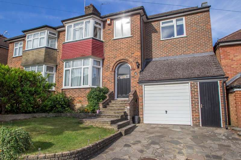 4 Bedrooms Semi Detached House for sale in Buttermere Gardens, Purley, CR8 1EG