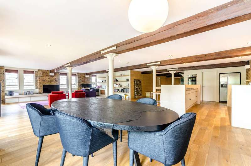 1 Bedroom Flat for sale in Olivers Wharf, Wapping, E1W