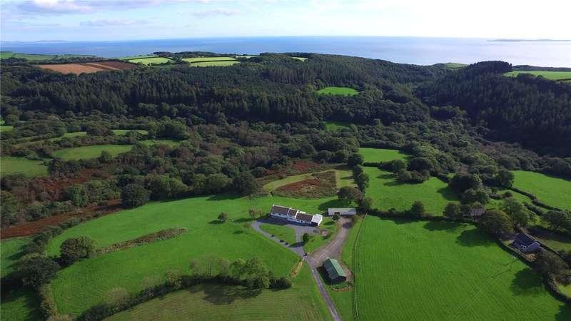 7 Bedrooms Detached House for sale in Garness Farm, Llanteg, Narberth, Pembrokeshire