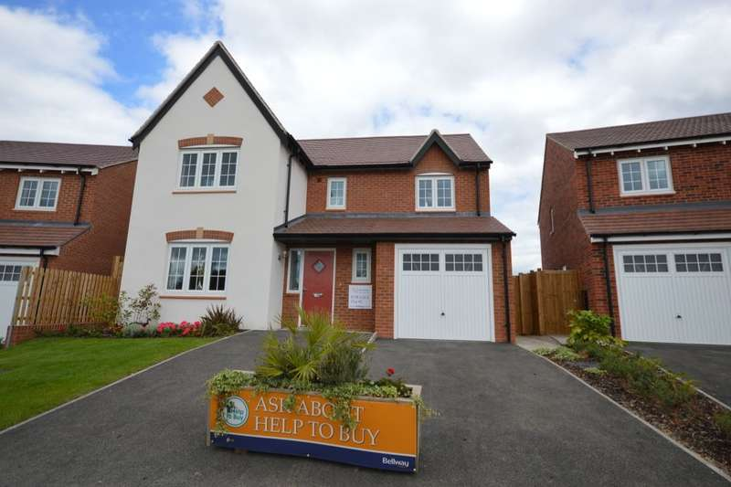 4 Bedrooms Detached House for sale in Ashbourne Royal Park The Long Shoot, Nuneaton, CV11