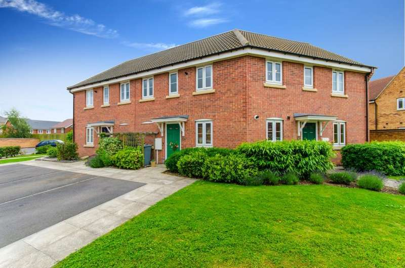 2 Bedrooms Flat for sale in Mayflower Mews, Grantham, NG31