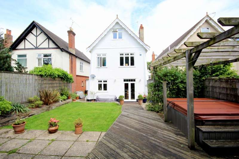 5 Bedrooms Detached House for sale in Parkstone Avenue, Lower Parkstone, Poole, BH14