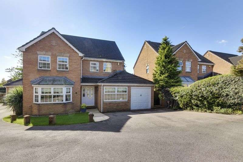 4 Bedrooms Detached House for sale in Great Oaks Park, Newport