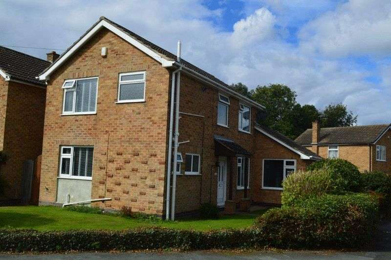 3 Bedrooms Detached House for sale in Cromwell Drive, East Leake