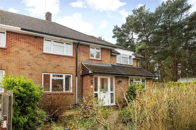 6 Bedrooms Semi Detached House for sale in Wickham Road, Camberley, Surrey, GU15