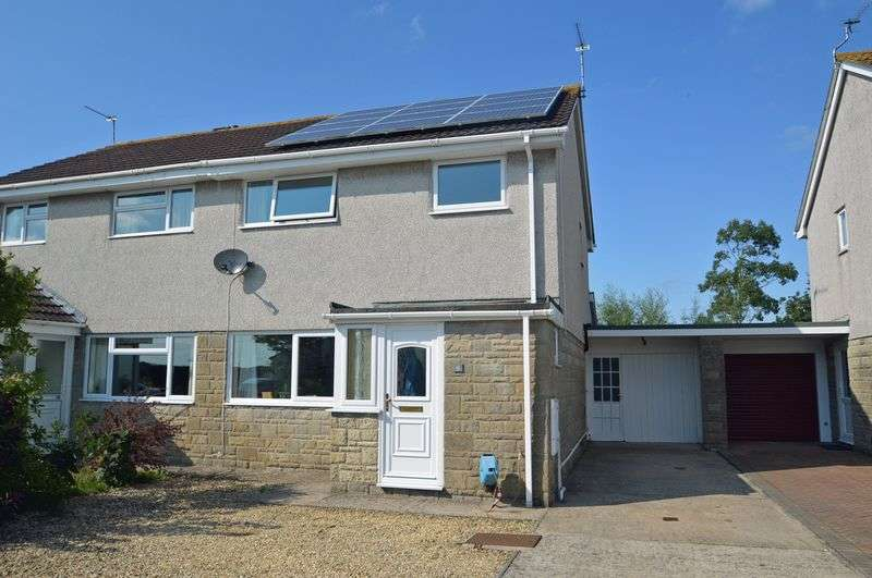 3 Bedrooms Semi Detached House for sale in Shiners Elms, Yatton