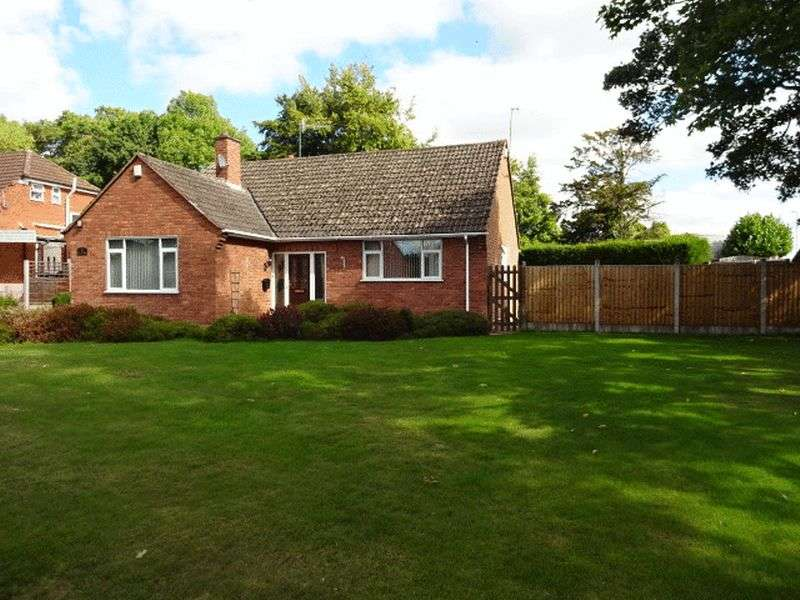 2 Bedrooms Detached Bungalow for sale in Lowe Lane, Kidderminster DY11 5QN