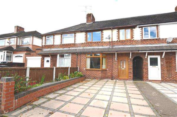3 Bedrooms Town House for sale in Hempstalls Lane, Newcastle, Newcastle-under-Lyme