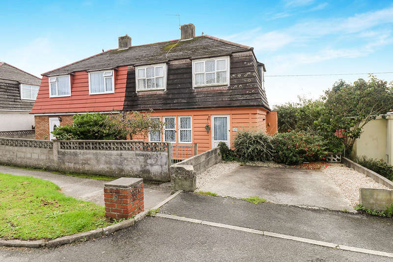 3 Bedrooms Semi Detached House for sale in Eliot Road, St. Austell, PL25