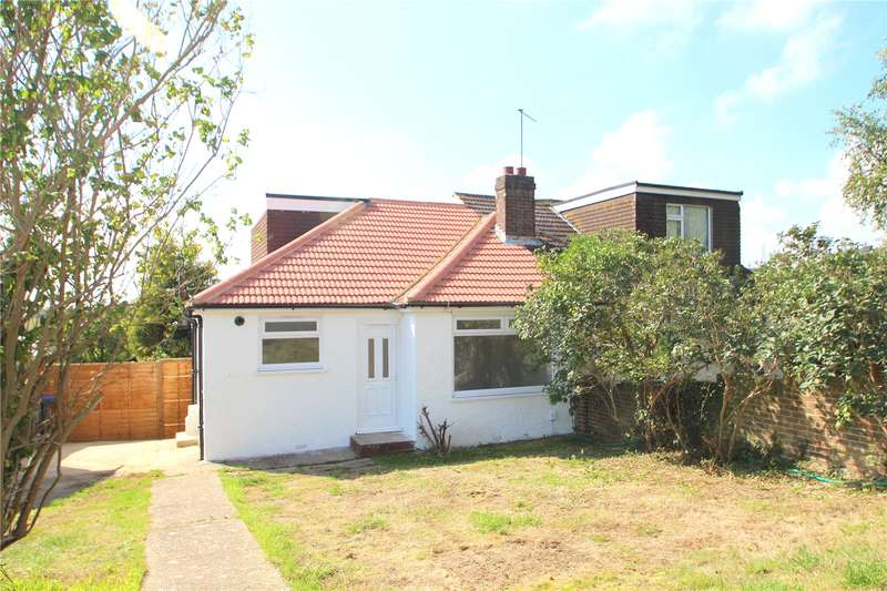 3 Bedrooms Semi Detached Bungalow for sale in Valley Road, Sompting, West Sussex, BN15