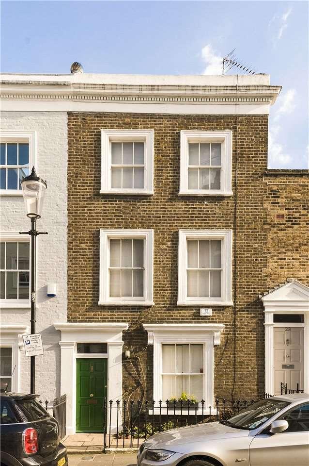 3 Bedrooms Terraced House for sale in Hillgate Street, London, W8