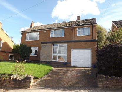 5 Bedrooms Detached House for sale in Walsingham Road, Woodthorpe, Nottingham, Nottinghamshire
