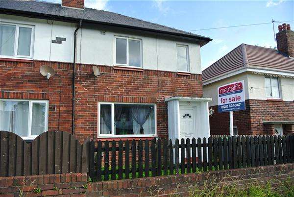 2 Bedrooms Semi Detached House for sale in Scorton Avenue, Blackpool