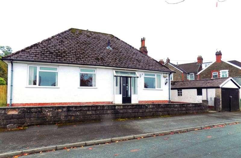 3 Bedrooms Detached Bungalow for sale in Dan Y Coed, Caerphilly