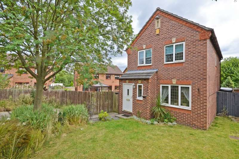 3 Bedrooms Detached House for sale in Laithes Court, Alverthorpe, Wakefield