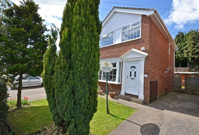3 Bedrooms Detached House for sale in The Sycamores, Horbury, Wakefield