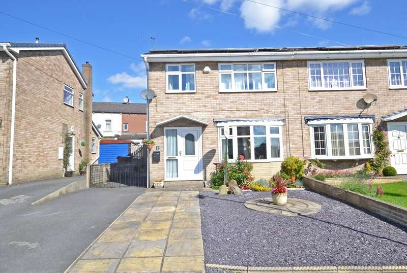 3 Bedrooms Semi Detached House for sale in Dunstan Close, Ossett