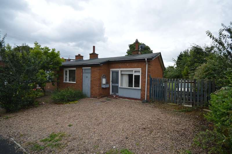 2 Bedrooms Semi Detached Bungalow for sale in Church Road, Altofts, Normanton