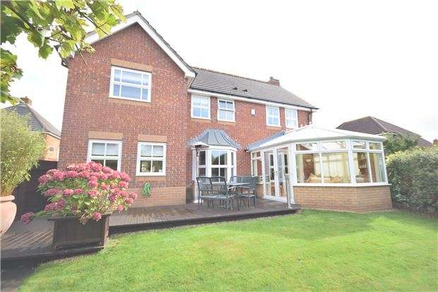4 Bedrooms Detached House for sale in Wadham Grove, Emersons Green, BRISTOL, BS16 7DX