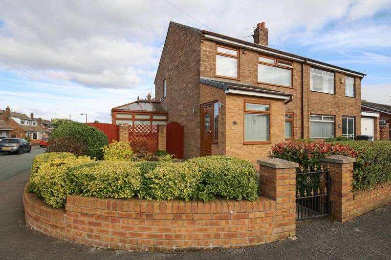 3 Bedrooms Semi Detached House for sale in Mayfair Drive, Hawkley Hall, Wigan