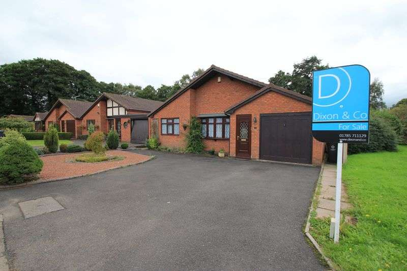 3 Bedrooms Detached Bungalow for sale in Kingfisher Walk, Penkridge, Stafford ST19 5DY