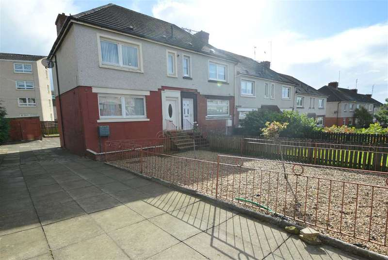 2 Bedrooms End Of Terrace House for sale in Dechmont Avenue, Motherwell - originally 3 bed end terraced,curently used as 2 + dining