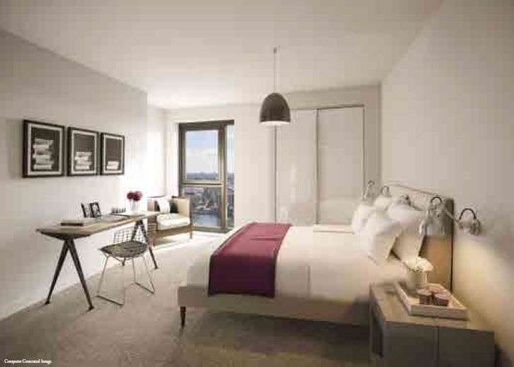 3 Bedrooms Flat for sale in Ropemakers Wharf (Limehouse Marina Development)