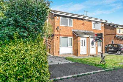 2 Bedrooms Semi Detached House for sale in Canterbury Close, Heaton With Oxcliffe, Morecambe, Lancashire, LA3