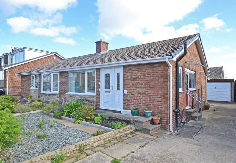 2 Bedrooms Semi Detached Bungalow for sale in Coxley View, Netherton