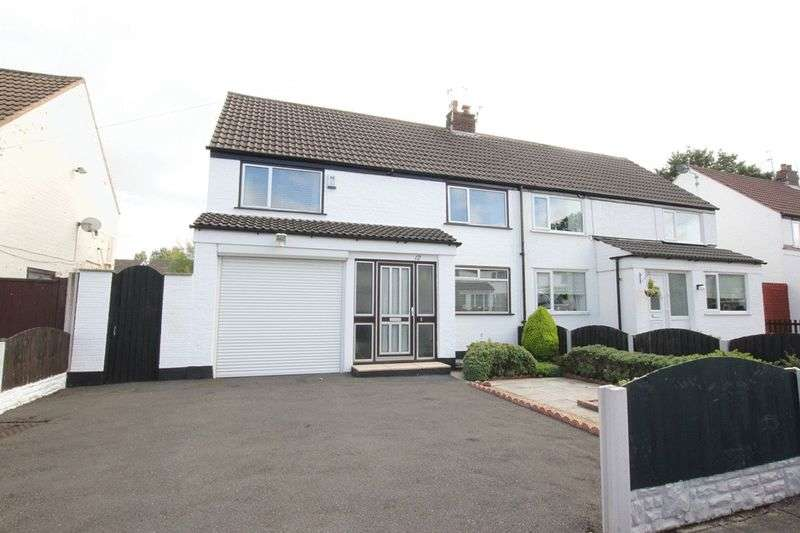 3 Bedrooms Semi Detached House for sale in Arborn Drive, Upton, Wirral