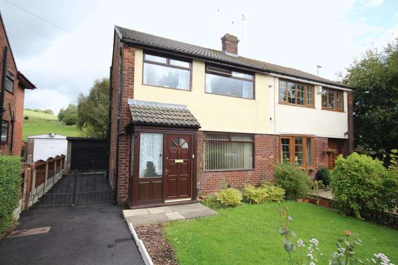 3 Bedrooms Semi Detached House for sale in KEEPERS DRIVE, Norden, Rochdale OL12 7RH