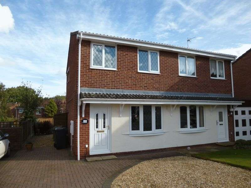 2 Bedrooms Semi Detached House for sale in Ruskin Close, Nuneaton