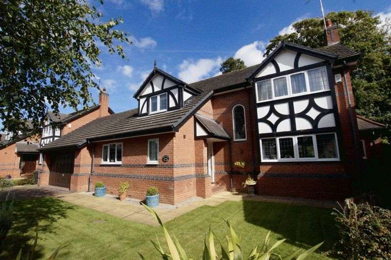 4 Bedrooms Detached House for sale in Station Road, Rossett, Wrexham