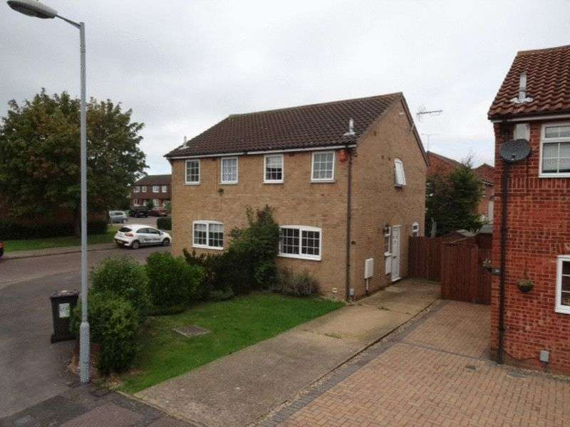 2 Bedrooms Semi Detached House for sale in Buzzard Road, Luton