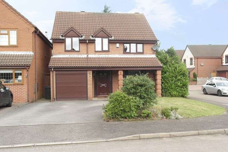 4 Bedrooms Detached House for sale in Old Lindens Close, Streetly, Sutton Coldfield